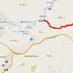 渋滞を避ける裏道 安佐北区狩留家町~東広島市志和町