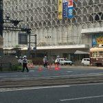 広島にオバマ大統領が来訪!広島市中心部の交通規制の様子