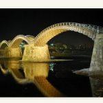明日8/8(月)から錦帯橋のライトアップが開始します!