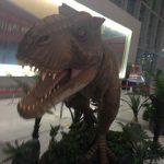 広島空港に恐竜が出現!「エアポート恐竜ワールド」が9/11まで開催中!