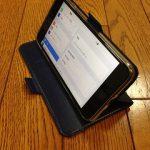 iPhone 7 Plus用の手帳風スマホケースを買ってみました