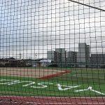 東区牛田にある空き地が「安田学園牛田総合グラウンド」に!凄くキレイに整備されてました!