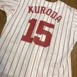 3/18のオープン戦は黒田さんが始球式を!!選手全員「黒田博樹特別ユニフォーム」を着用