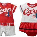 ニッセンの「プロ野球公認 ユニフォーム風カバーオール/スカート付ロンパース」が可愛いと人気!