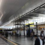 広島駅南北自由通路の全面開通まで間もなく! ekie開業に向けた現在の様子