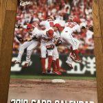 カープ選手の写真が満載!「2018年カープカレンダー」が発売されました