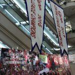 福屋で展示中のセ・リーグ優勝トロフィーとペナントをようやく見る事ができました!