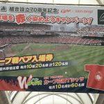 広島本通商店街で毎年恒例の「球場を赤く染めようキャンペーン!」実施中!