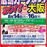 8/14(火)~8/16(木)にあべのキューズモールで「第9回 広島カープまつり 2018 in 大阪」開催!