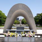明日8/6(月)は「原爆の日」で「平和記念式典」が開催!交通規制に注意、夜には灯籠流しも
