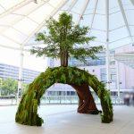 広島駅新幹線口のペデストリアンデッキに巨大な「Summer Tree」が登場!8/31(金)まで