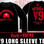 「広島東洋カープ×内藤哲也コラボ V9 Tシャツ」が発売!広島会場限定シャツも
