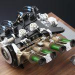 マツダ787Bに搭載されていたロータリーエンジンが1/6スケールになって登場!