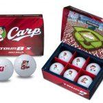 カープとコラボしたゴルフボール「TOUR B X Carp」が登場!12/7(金)発売