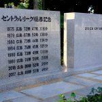 新たな「セ・リーグ優勝記念碑」を見に行ってみました!優勝奉告に参拝された広島護国神社も