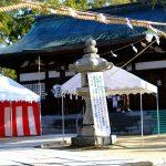「饒津神社」では「茅の輪くぐり」がお正月に行われます!1/1(火・祝)~1/13(日)まで