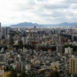 毛利輝元が広島城の築城場所を見立てた「見立山」に登ってみました!頂上からは市内が一望