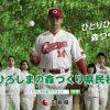 カープ大瀬良投手が出演する「ひろしまの森づくり事業」の新CMが公開!