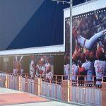 マツダスタジアムのプロムナード横に歴代カープ優勝時のパネルが登場!