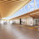 JR西広島駅整備事業のイメージ図が公開!太陽光を取り込み木のぬくもりが感じられる雰囲気に