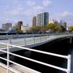平和記念公園そばの「平和大橋歩道橋」が明日3/21(木)に開通します!