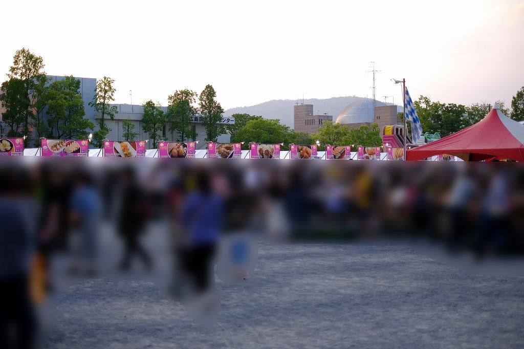 旧広島市民球場跡地で「餃子フェス with 世界のビールとグルメ ...
