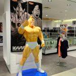 キン肉マン連載40周年記念で広島パルコにマッスルショップ登場!フィギュア等も多数展示