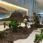 動いて吠える恐竜模型が展示!本日7/13(土)から広島空港で「ジュラシック エアポート」開催