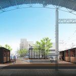 JR西広島駅そば「ひろでん会館」跡地に広場を中心とした施設を12月下旬にオープン!