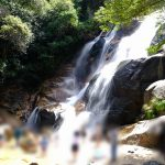落差数十メートルの豪快な滝のそばで水遊び出来る「妹背の滝」!広島市内からのアクセスも良好