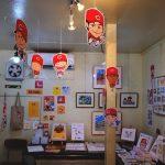 「木村兄弟雑貨店」で広島愛・カープ愛にあふれた作家展「ひろしまゆかりの作家展」開催中!