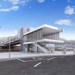 大竹駅自由通路・橋上駅舎のデザイン決定! 2019年冬着工、2022年度末開業予定