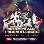 「第16回みやざきフェニックス・リーグ」本日10/7(月)~!BSやネットで試合中継あり