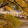 かつて白島の陸軍工兵第五連隊と牛田の演習場を結んでいた、京橋川にかかる吊り橋「工兵橋」