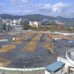 3/19~旧広島市民球場跡地で「ひろしま はなのわ 2020」開催!会場の準備が進められています