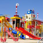大型遊具のある晴海臨海公園にデイキャンプ場が誕生!目の前に宮島が望める絶好のロケーション