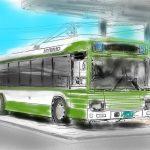 広島電鉄が広電電車・バスのペーパークラフト・ぬりえデータを公開中!