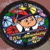 カープ坊やのマンホールに新デザイン!マツダスタジアム開場10周年記念「傘まつり」をイメージ