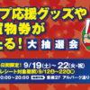 アルパークでカープ応援グッズやお買物券が当たる大抽選会開催中!9/22(火・祝)まで