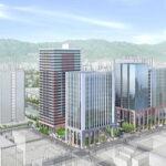 "<span class=""title"">広島市中心部の八丁堀地区に高層ビル3棟建設!2028年度完成予定</span>"